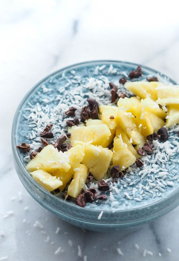 Blue-Algae Recipes: Blue Majik Chia Pudding Recipe