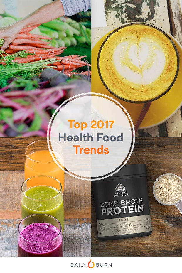 The 7 Most Popular Health Foods of 2017