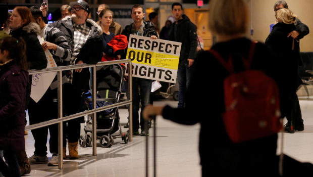 Up to 60000 visas cancelled under Trump's executive order on immigration