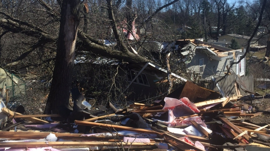 The National Weather Service has confirmed that it was a tornado that caused extensive damage north of the Twin Cities