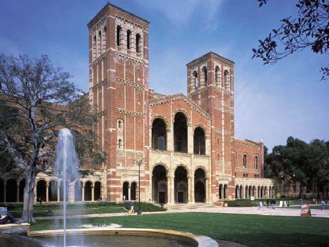 UCLA has a pleasing campus though it looks like it competence be a calamity for bad Winnie. Picture: Supplied