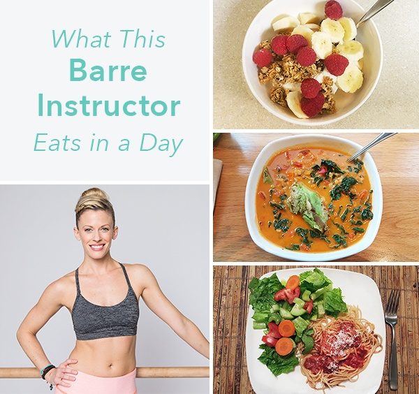 Food Diaries: What This Barre Instructor Eats in a Day