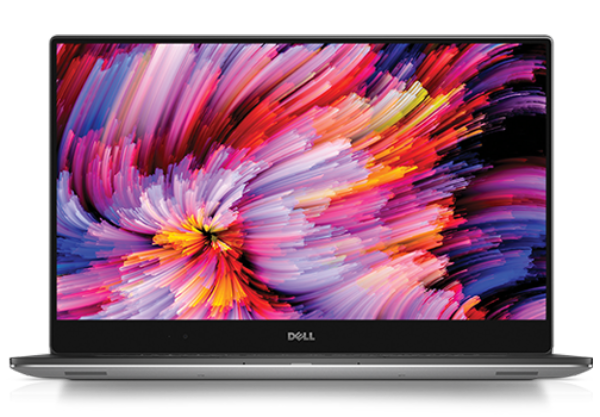 The latest Dell XPS 15 features a nearly edge to edge display