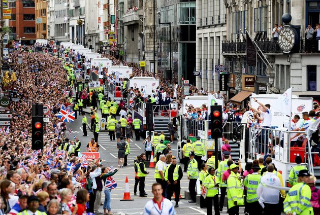 Paul Gilham  PA WireA perspective of a 2012 Olympic and Paralympic feat parade