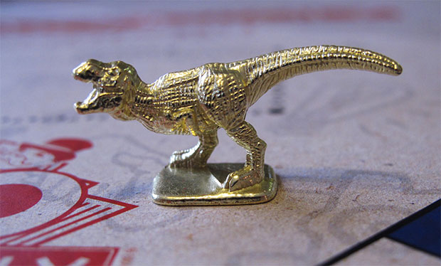 This new T-Rex will make Monopoly nerds forget about the thimble