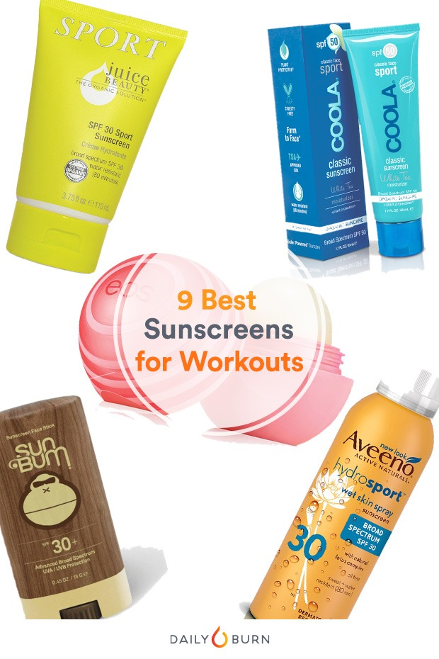 The 9 Best Sport Sunscreens for Every Skin Type