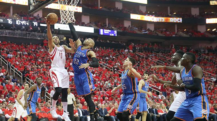 The Houston Rockets Rockets Oklahoma City Thunder Thunder Western Conference Russell Westbrook sports stories Indian Express