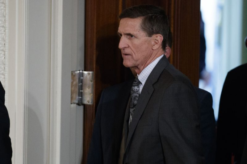 Mike Flynn hints he would testify in Trump-Russia inquiry in exchange for immunity