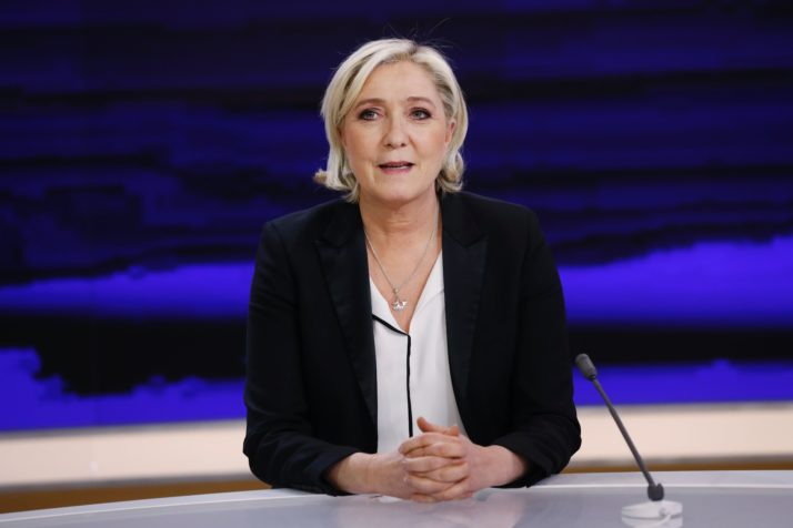 French presidential election candidate for the far-right National Front party Marine Le Pen | Patrick Kovarik  AFP via Getty Images