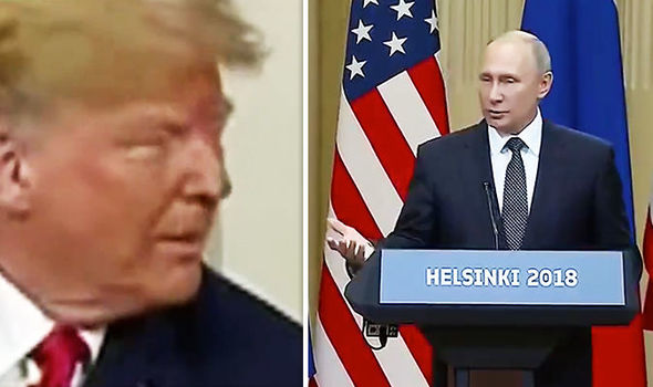 Vladimir Putin Donald Trump Helsinki summit
