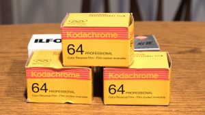 I've still got a few rolls of Kodachrome 64 in my freezer for nostalgia. Maybe now I'll actually be able to shoot them!