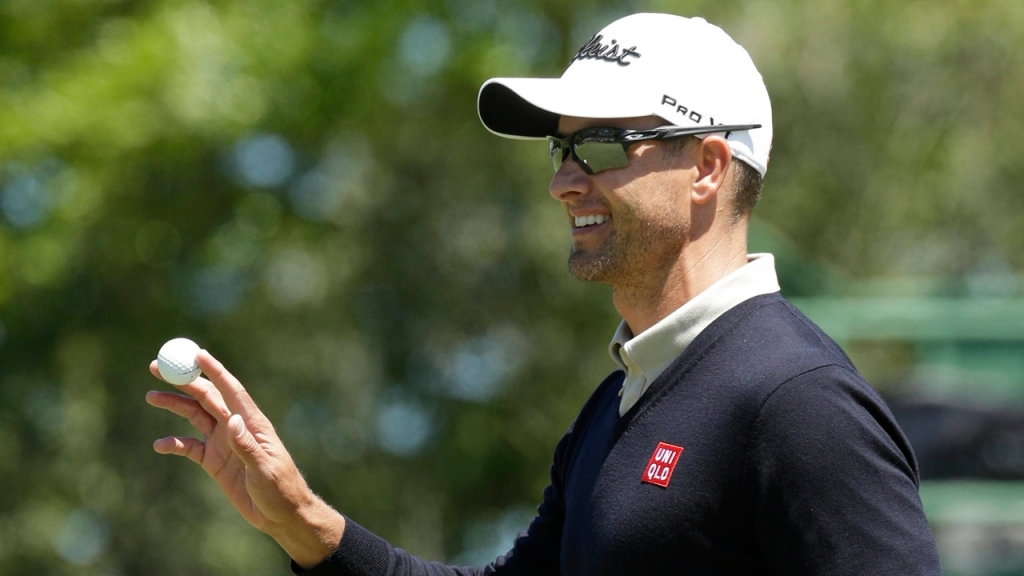 Adam Scott says he can make another big move up the leaderboard in the third round of the Masters