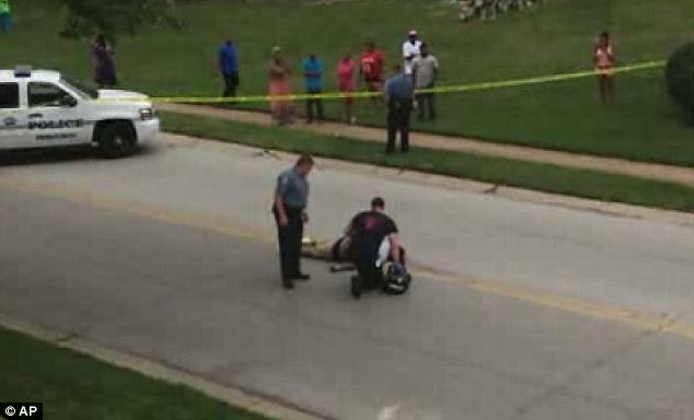 Police and EMS quickly determined that Michael Brown was dead where he fell