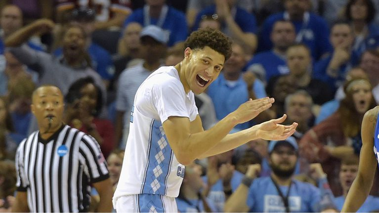 FOR UNC--IT'S ON TO THE'FINAL FOUR. AGAIN