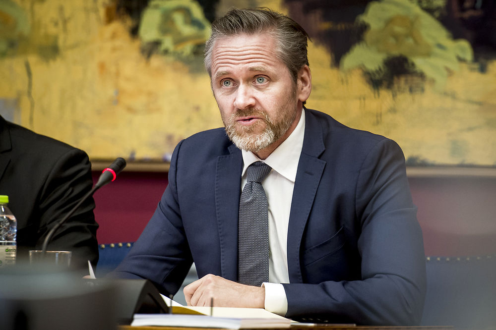 Denmark's foreign minister'sees no reason to congratulate Putin on election win