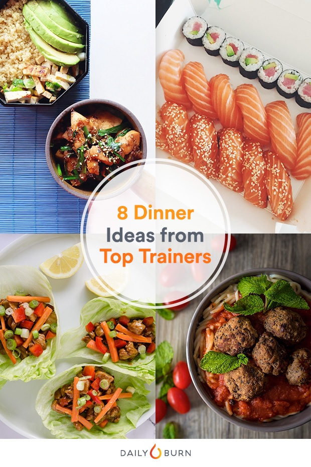 8 Easy Weeknight Dinner Ideas from Top Trainers