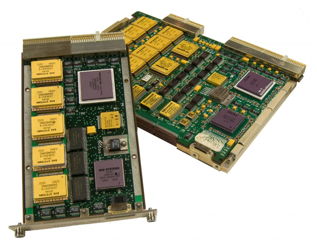 The RAD750 radiation hardened computer, as found in Curiosity and other spacecraft