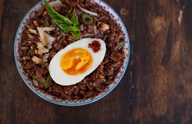 The Healthy Cook's Guide to Every Type of Rice: Red Rice Salad Recipe