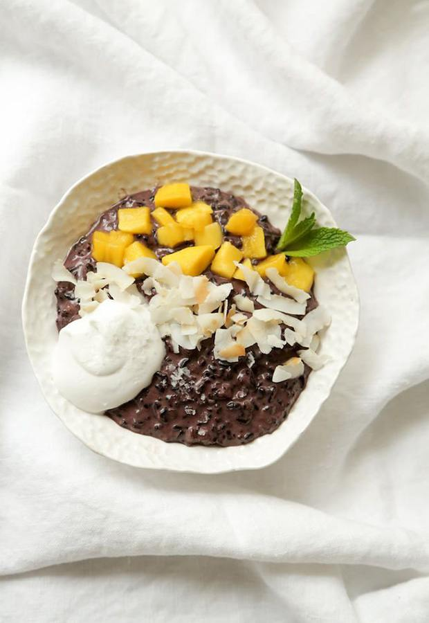 The Healthy Cook's Guide to Every Type of Rice: Thai Coconut Black Rice Pudding Recipe