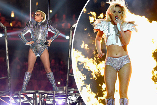 Was there a hidden message in Lady Gaga's Super Bowl performance