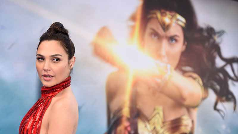 Gal Gadot arrives at the world premiere