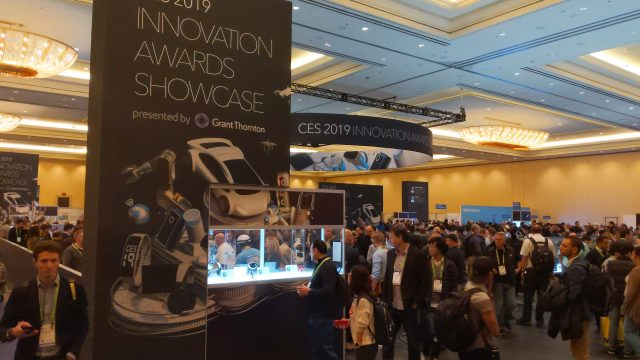 CES has its own Awards, but since they are given out months before the show to products that won't even be ready to demo until the show, it's never been clear to me how they are judged. Nonetheless, the Award Exhibit is always very popular.