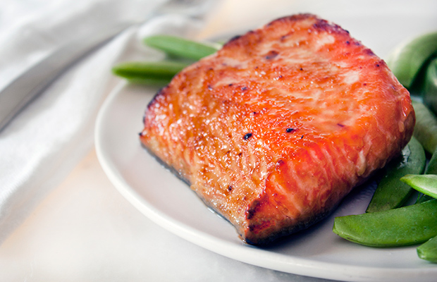 Food to Fight a Common Cold: Miso Salmon Recipe