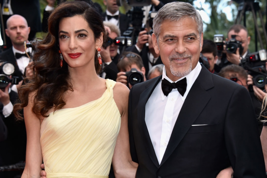 Amal Clooney George Clooney pregnant