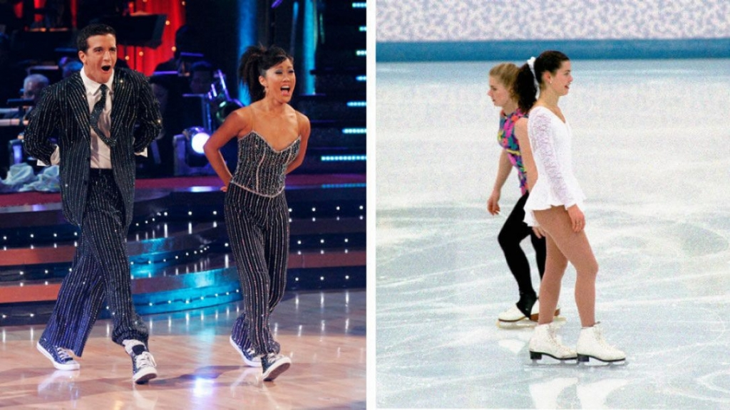 Before former figure skater Kristi Yamaguchi left told Nancy Kerrigan to'break a leg on Dancing with the Stars she herself was on the show and won the competition in the sixth season