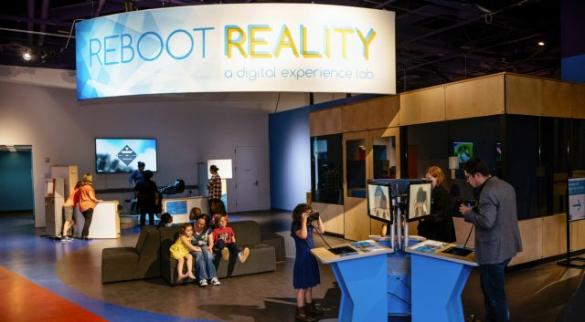 Reboot Reality exhibit at The Tech