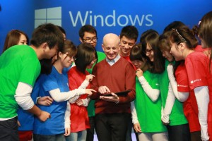 Steve Sinofsky during happier times at the Windows 8 Launch