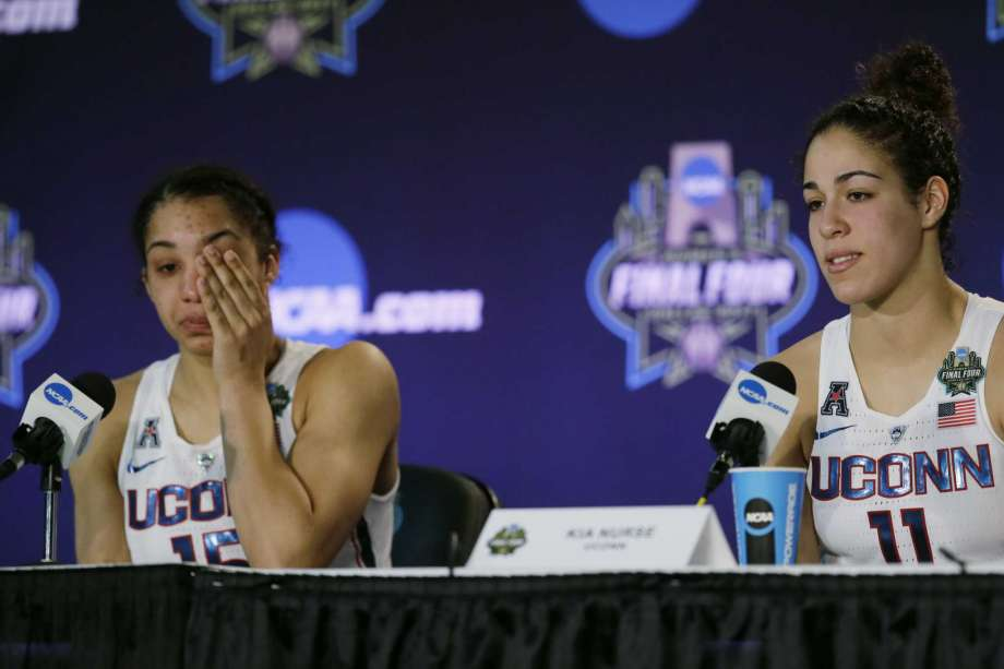 Gabby Williams took UConn's OT loss to Mississippi State especially hard but the future appears bright for the Huskies